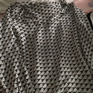 Collective concepts herringbone blouse size xs